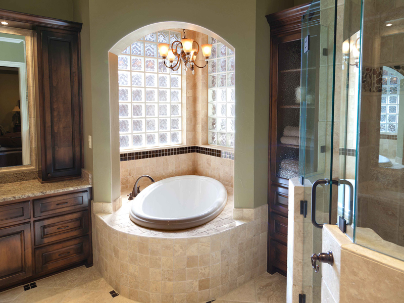Master bathroom suite remodel dfw improved frisco tx for Bath remodel frisco tx