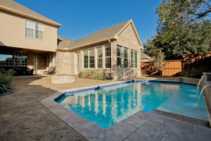 Master Bedroom Addition, Indoor Pool and Outdoor Pool