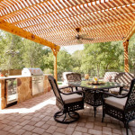 Outdoor Living Spaces with Kitchen