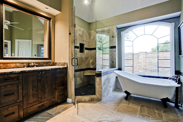 Today 39 s bathroom remodeling design trends i dfw improved for Bath remodel dallas tx