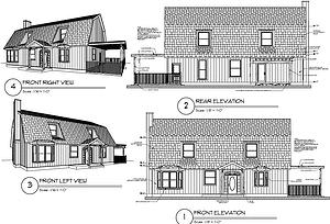 Barn Conversion Drawing