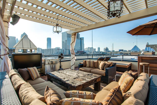 Urban Rooftop Outdoor Spaces | DFW Improved on Urban Living Outdoor id=93909