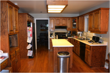 kitchen remodel, Kitchen Remodel – White Only After Labor Day?