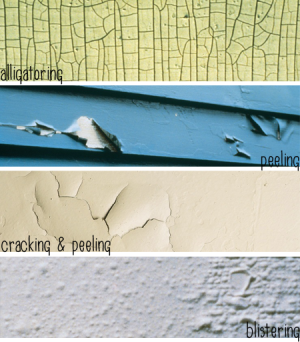 Image of Deteriorated Exterior Painting