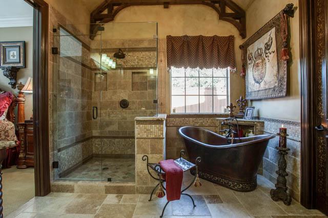 Old world master bathroom dfw improved 972 377 7600 - Change your old bathroom to traditional bathrooms ...