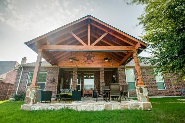 Suburban Outdoor Living Space