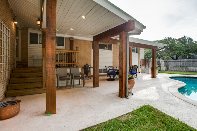 Covered Patio Ideas For Backyard : Back Yard Covered Patio Ideas Backyard deck ideas