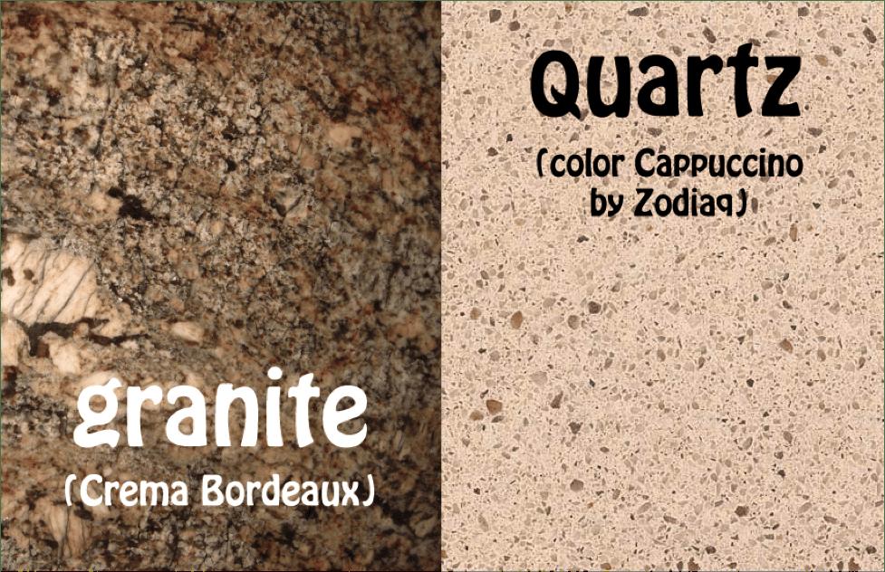 countertops, Quartz vs. Granite Countertops