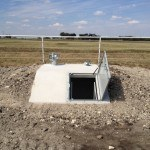 Photo of Completed Storm Shelter Installation