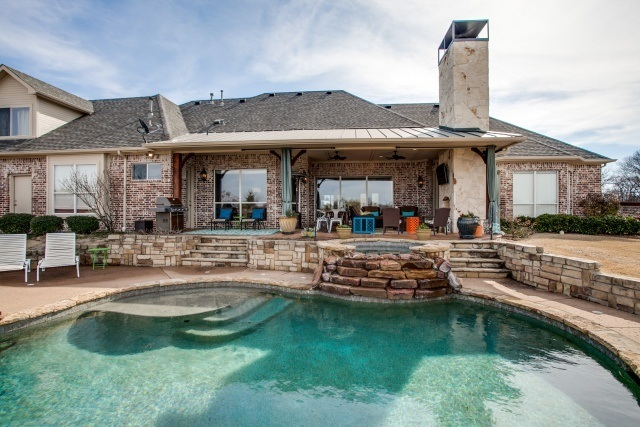 Private Outdoor Living Oasis Dfw Improved