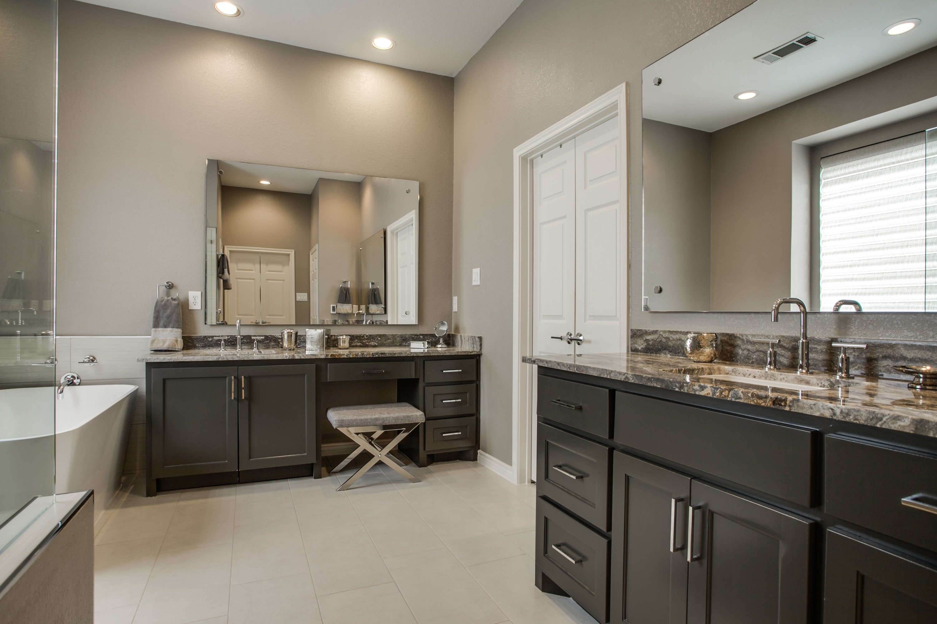 master bathroom renovation richardson tx dfw improved