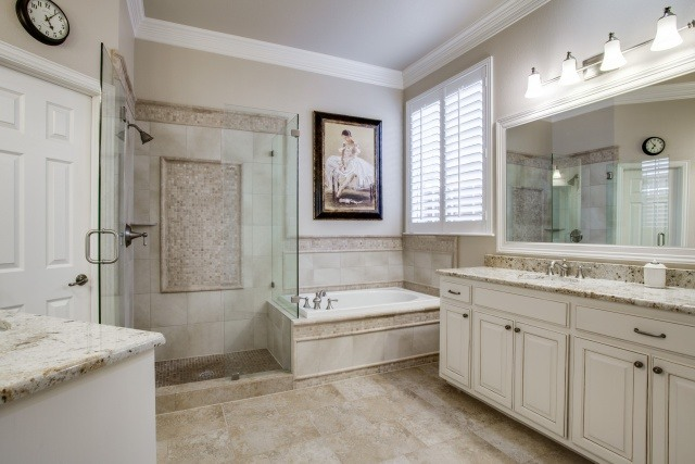 Master Bathroom Renovation DFW Improved