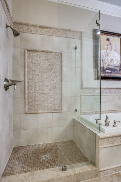 shower and tile detail