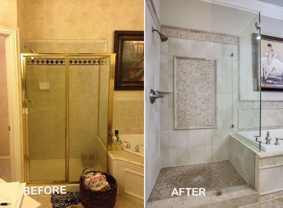 Master Bathroom Renovation  Dfw Improved. Galvanized Dining Table. Feizy Rugs. Carpet Treads. Modern Reclining Chair. Tallboy Dresser. Storage Cabinet. Bamboo Wall Decor. West Elm Sideboard