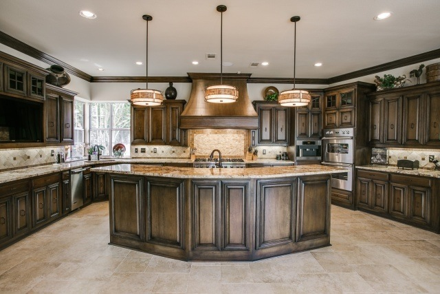 Traditional Kitchen Remodel in Plano DFW Improved