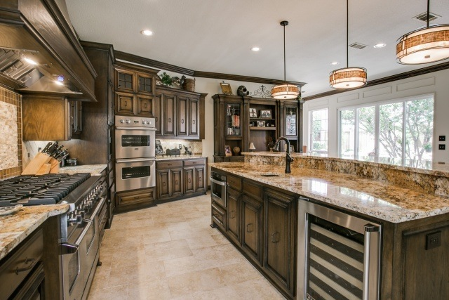 Traditional Kitchen Remodel in Plano