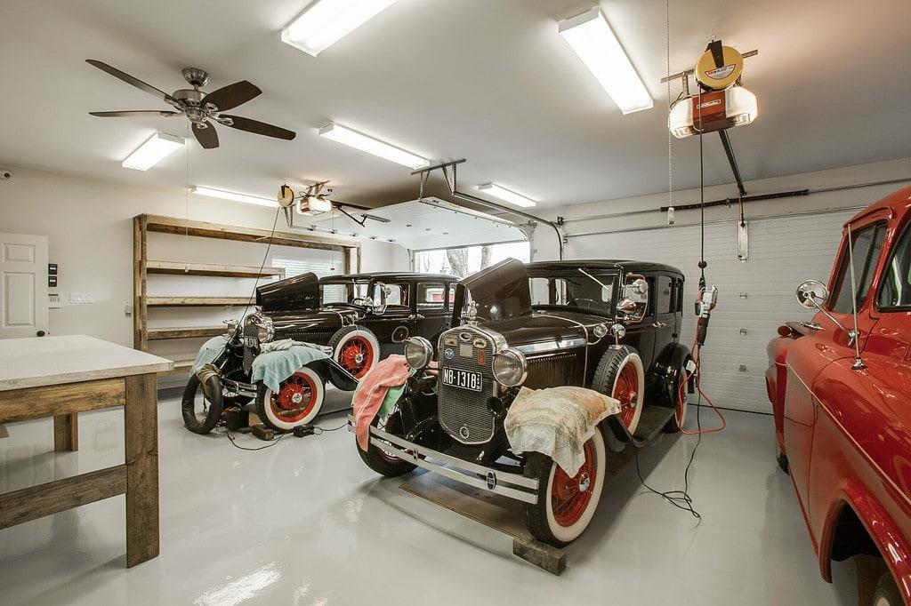 custom garage workshop plano tx