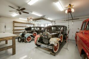 custom garage workshop plano tx