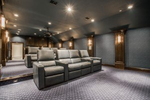 Upgrade Your Garage - Media Room Addition