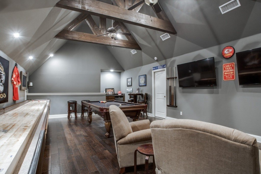 attic-space-converted-game-room