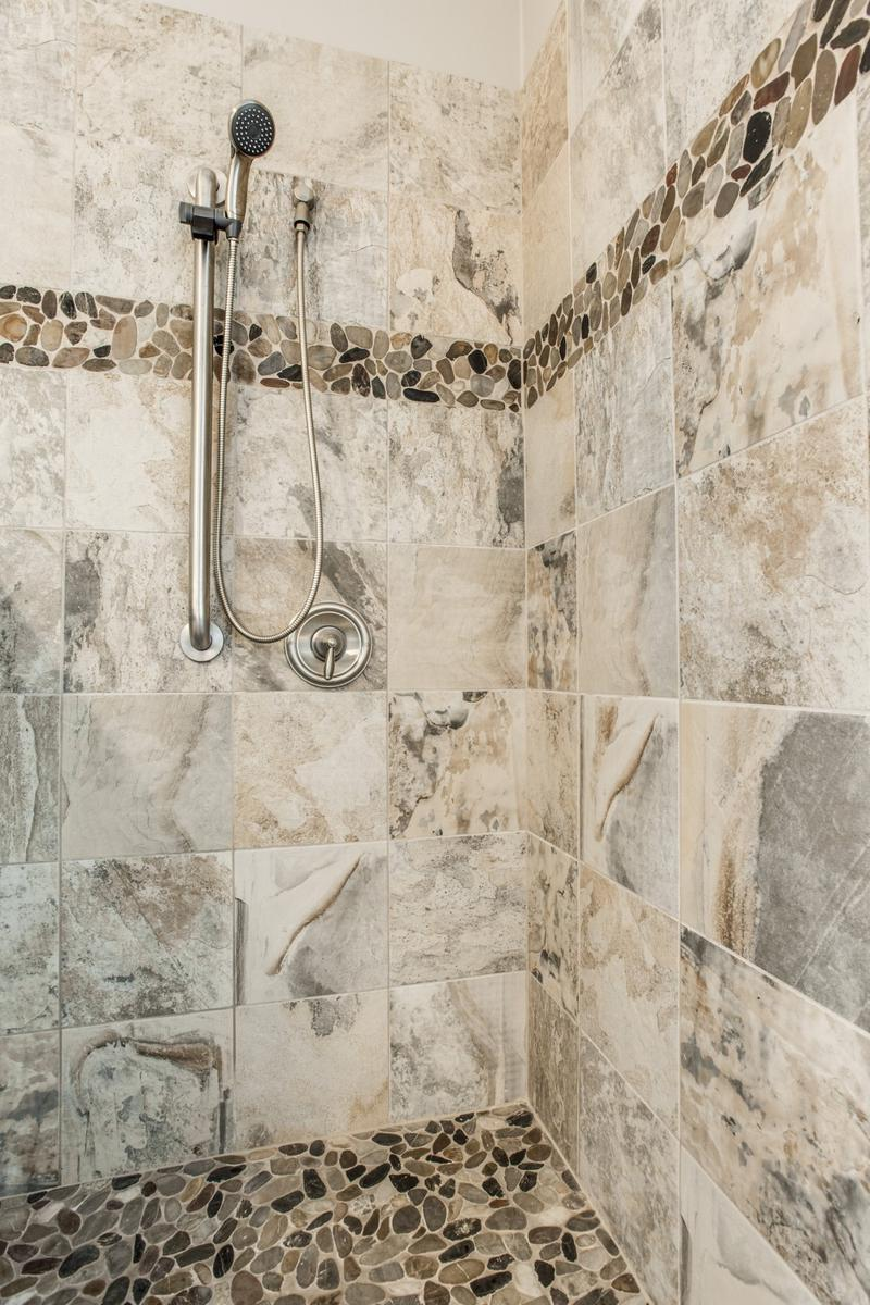 Gorgeous Walk In Shower Bathroom Remodel Dfw Improved