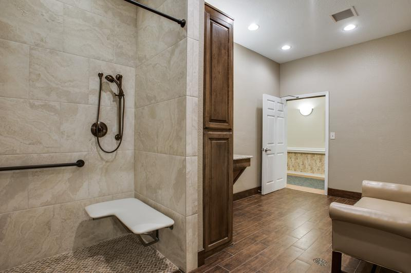 Ada compliant bathroom remodel dfw improved for Bath remodel frisco tx