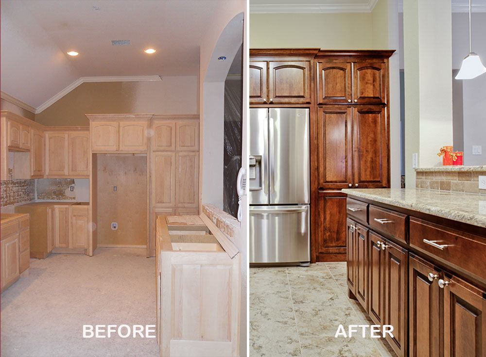 Home remodeling ideas and pictures dfw improved 972 377 7600 for Kitchen restoration ideas