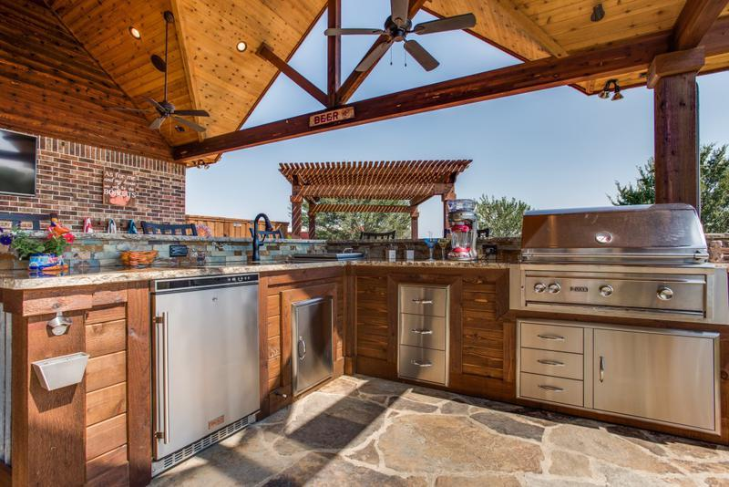 Project Feature: Custom Outdoor Living Space | DFW Improved on Custom Outdoor Living Spaces id=97522