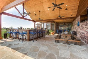 outdoor living space, Project Feature: Custom Outdoor Living Space