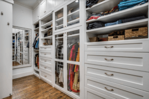 master bedroom must haves - luxury closet