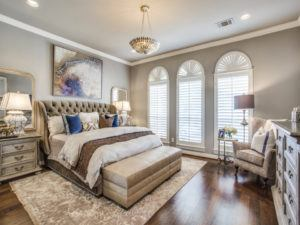 master bedroom design - master bedroom with luxurious details