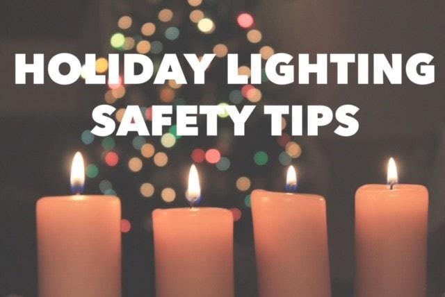 holiday lighting, Holiday Lighting Safety Tips