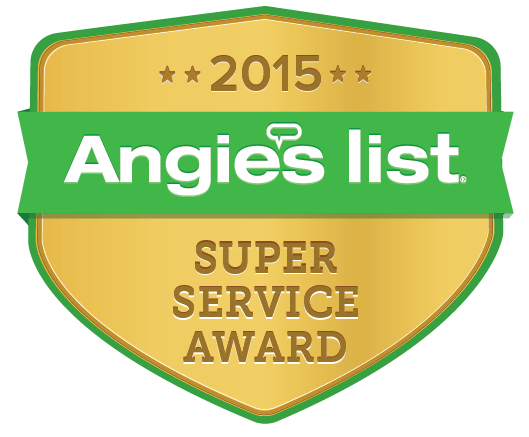 Angie's List, DFW Improved Earns 2015 Angie's List Super Service Award