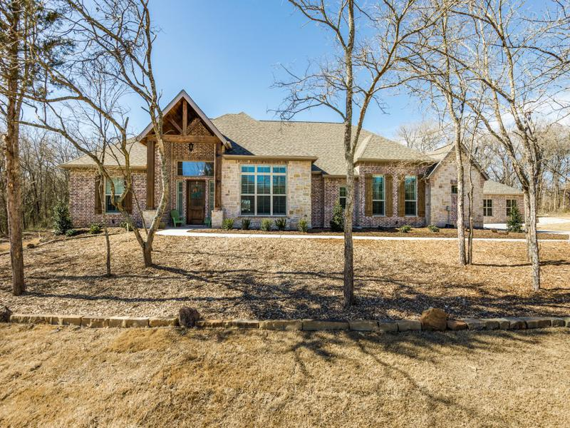 Stunning Ranch Style Custom Home