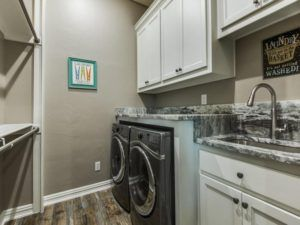 small spaces - laundry room remodel