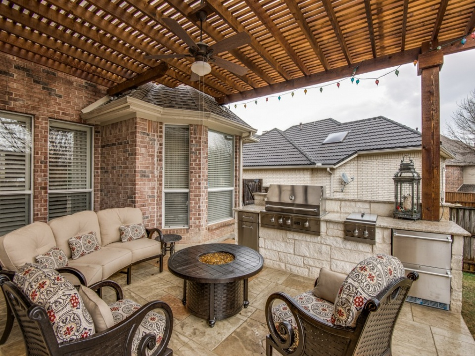 Create an Outdoor Living Room with a Patio Cover or Pergola
