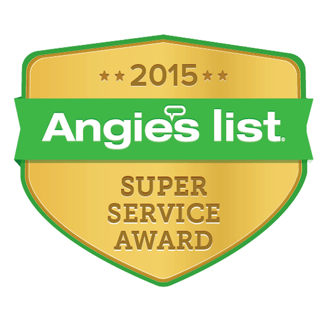 Angies List - Super Service Award - 2015