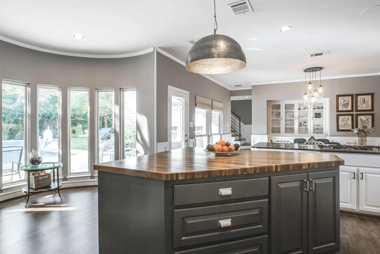 transitional modern kitchen remodel