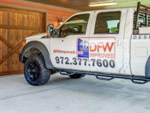 Home Maintenance - DFW Improved Maintenance Truck