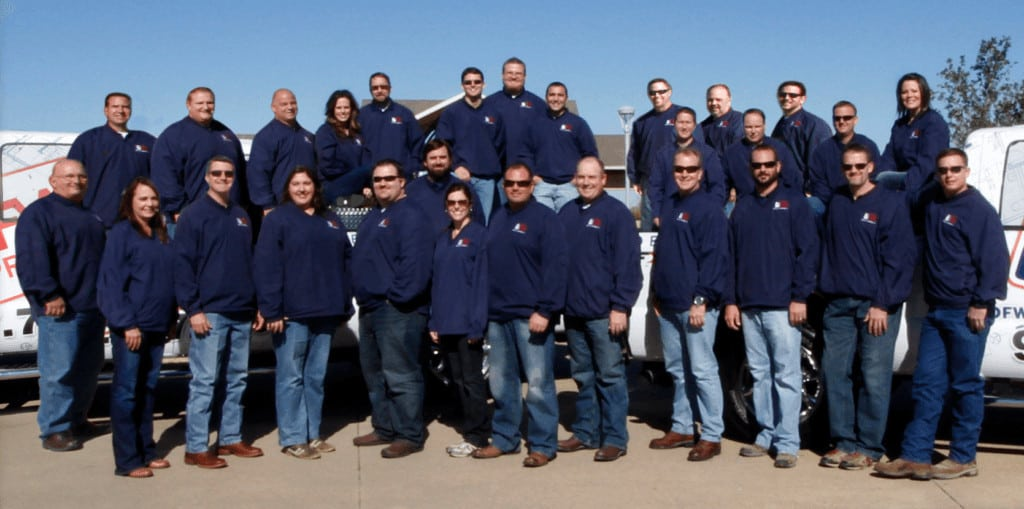 choosing a contractor - DFW Improved team photo