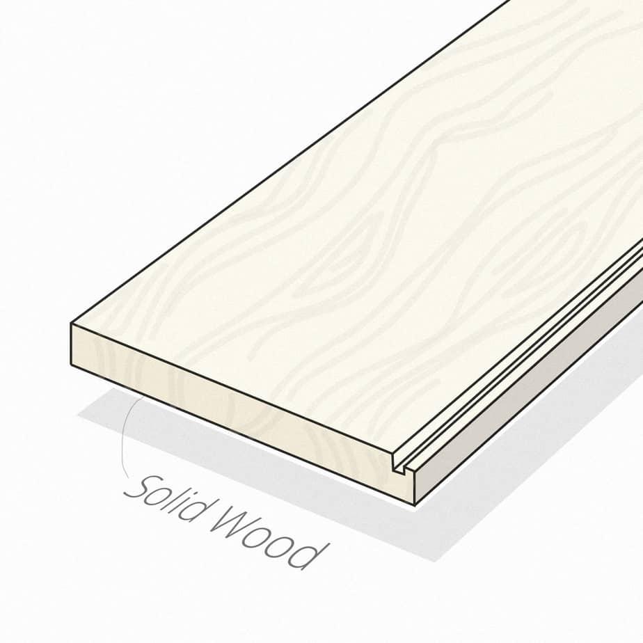 Solid Wood Floors Illustration