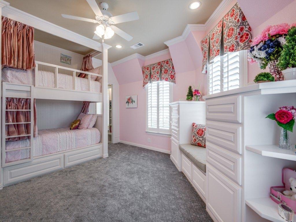 custom girl's bedroom and bathroom