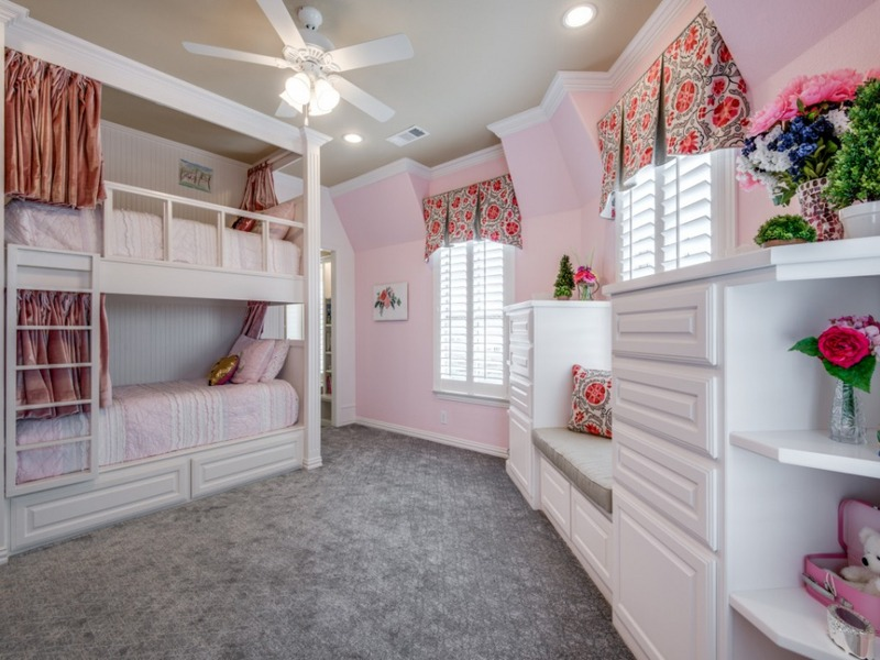 girls bedroom, shared space