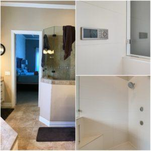 smart shower before and afters