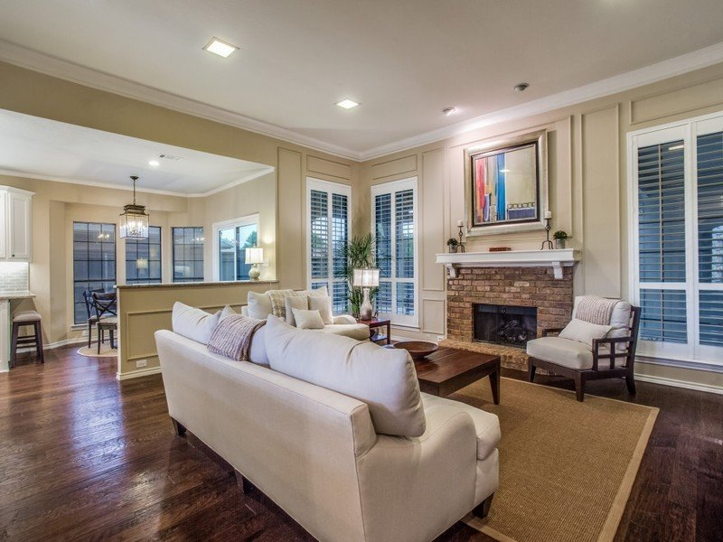 transitional renovation in plano