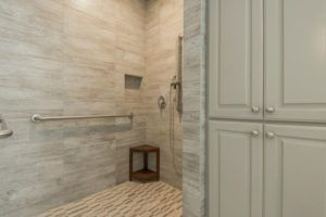 multi-generational living - universal design ada compliant bathroom