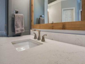 How much does it cost to remodel a bathroom? - undermount sink