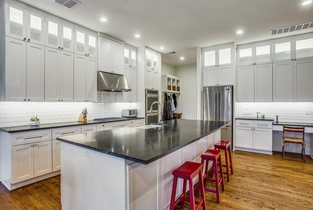 Kitchen and Bath Makeover in Dallas TX by DFW Improved