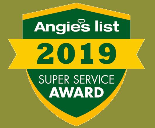 2019 Angie's super service award