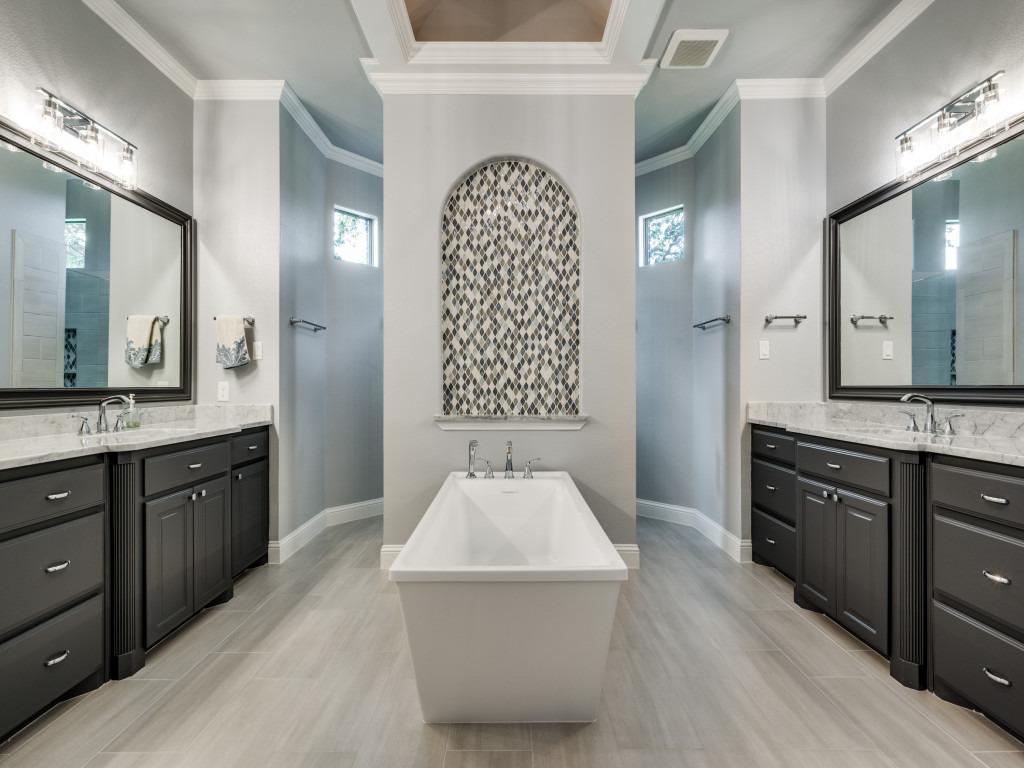 master bathroom renovation in frisco tx